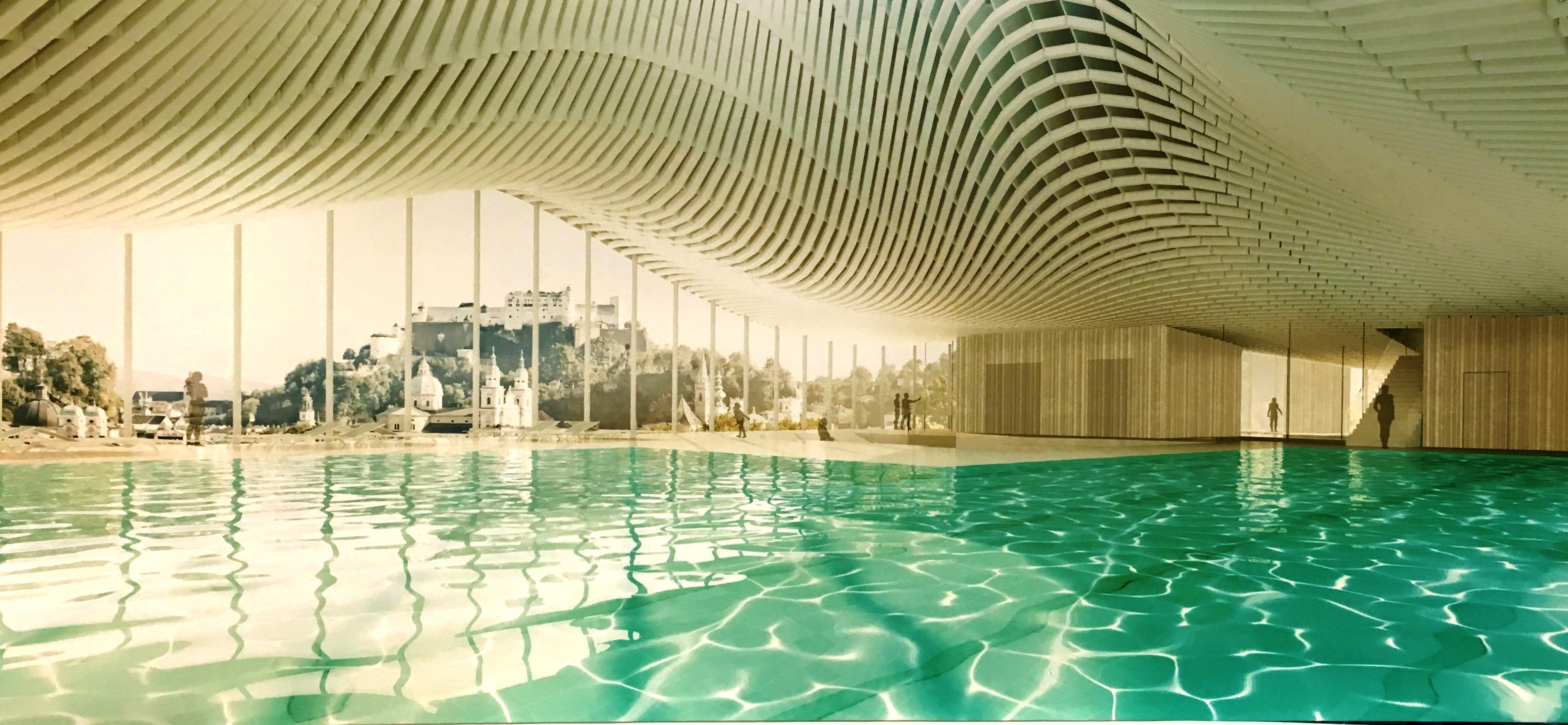 Steuler Pool Linings Dachpool Salzburg