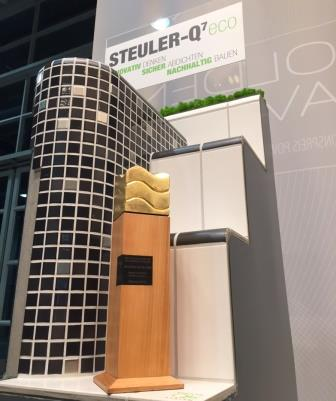 """Mit dem lösemittelfreien Abdichtungssystem """"STEULER-Q7eco"""" setzt Steuler auf den gezielten Einsatz von nachwachsenden Rohstoffen im Schwimmbadbau."""