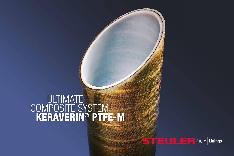 Hochleistungs-Verbundwerkstoff KERAVERIN PTFE-M