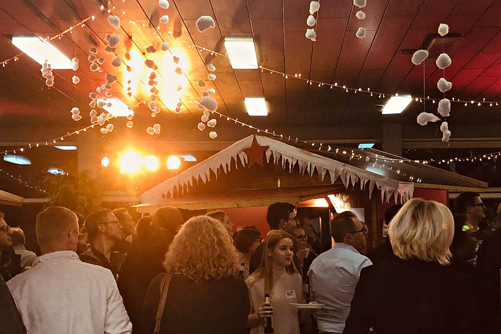 Eine gelungene Steuler-Weihnachtsfeier in der Standortkantine in Siershahn.