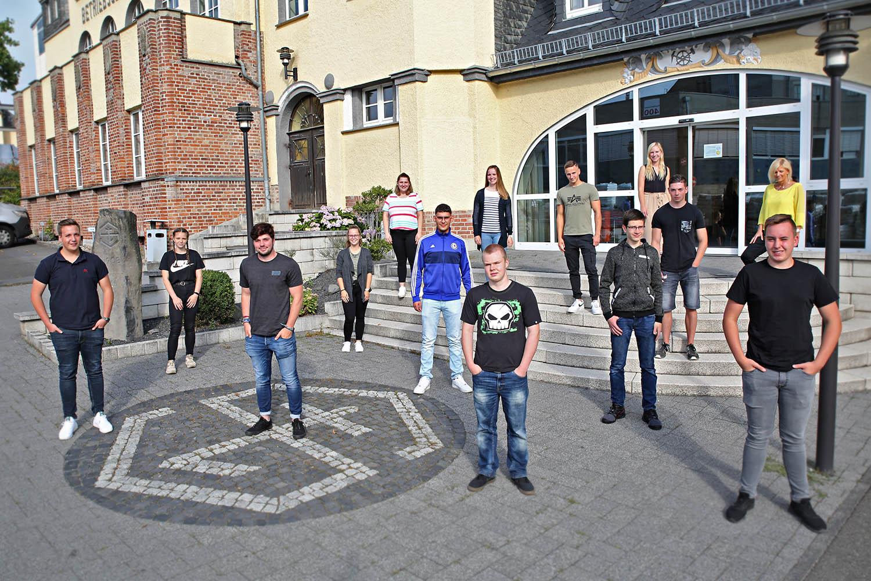 Ausbildungsstart 2020 bei der Steuler-Gruppe in Höhr-Grenzhausen