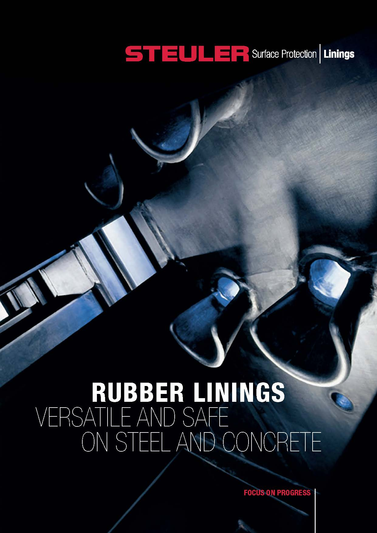 New brochure about rubber linings for corrosion protection from Steuler Linings.