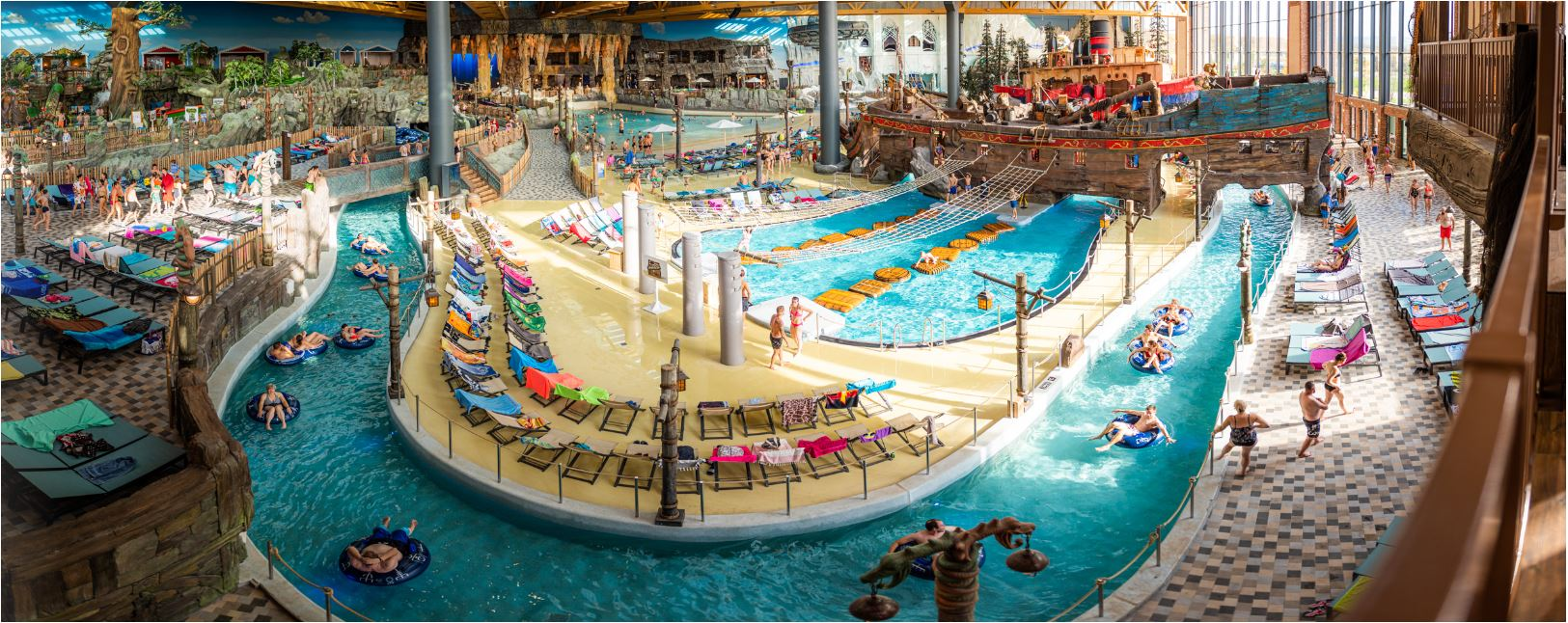 """A view of the impressive """"Rulantica"""" water world in the Europa Park in Rust. The Höhr-Grenzhausen family company, Steuler, had a significant part to play in the construction of the multi-million euro project."""