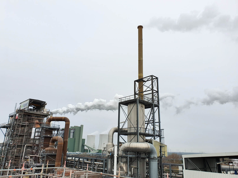 Sonderabfallverbrennungsanlage SUEZ in Schkopau, Sachsen-Anhalt