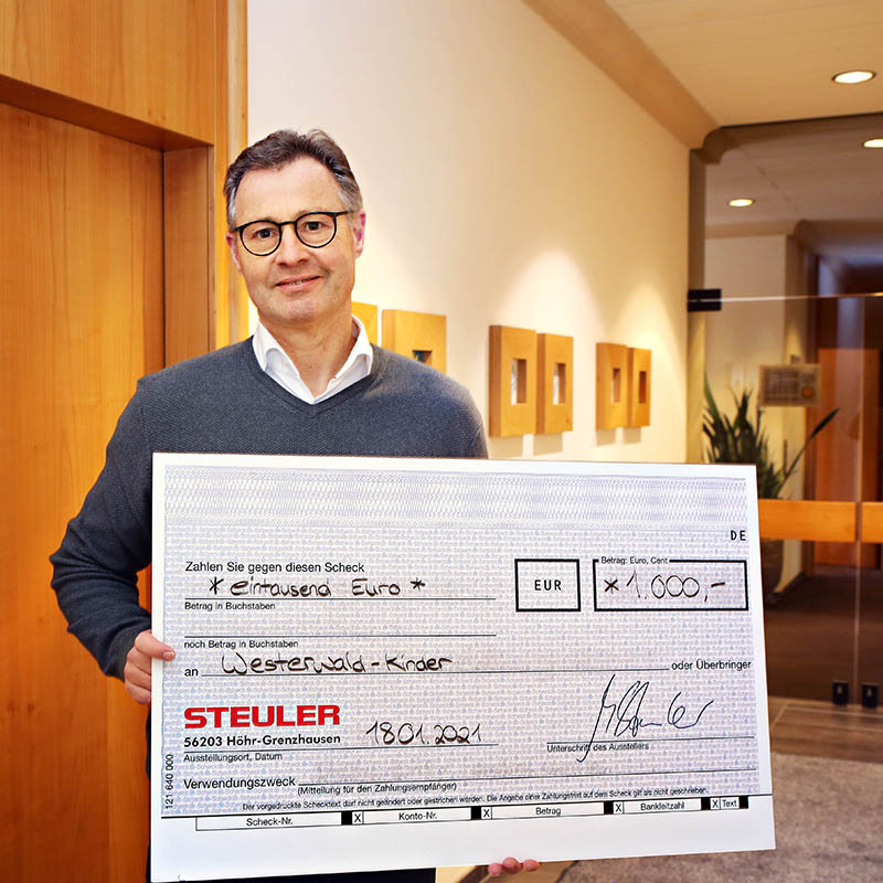 Michael Steuler, Geschäftsführer der Steuler-Unternehmensgruppe
