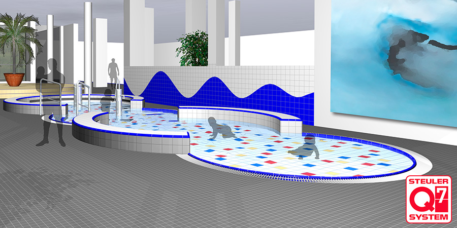 Steuler Pool Linings 3D Planung