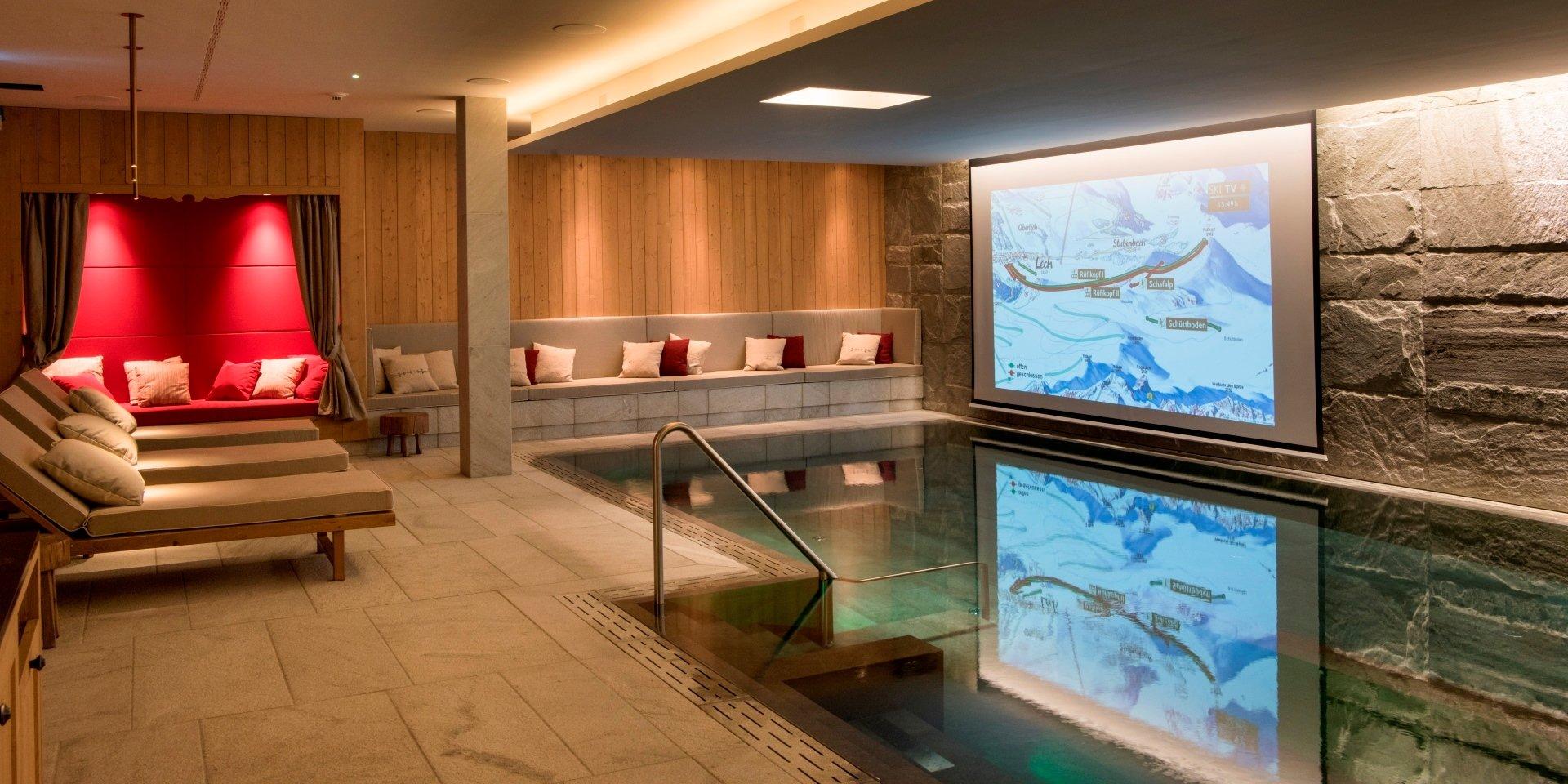 Steuler Pool Linings Chalet Mimi Oberlech Relax Area