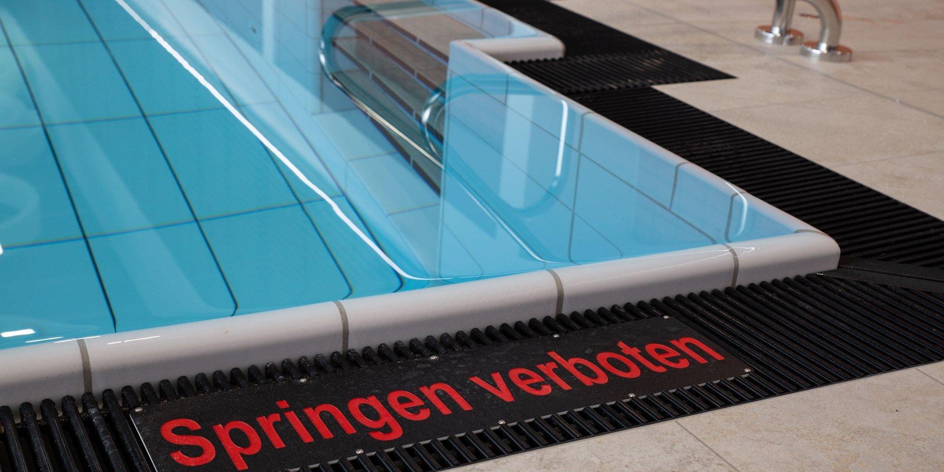 Steuler Pool Linings Sentabad München Rinne