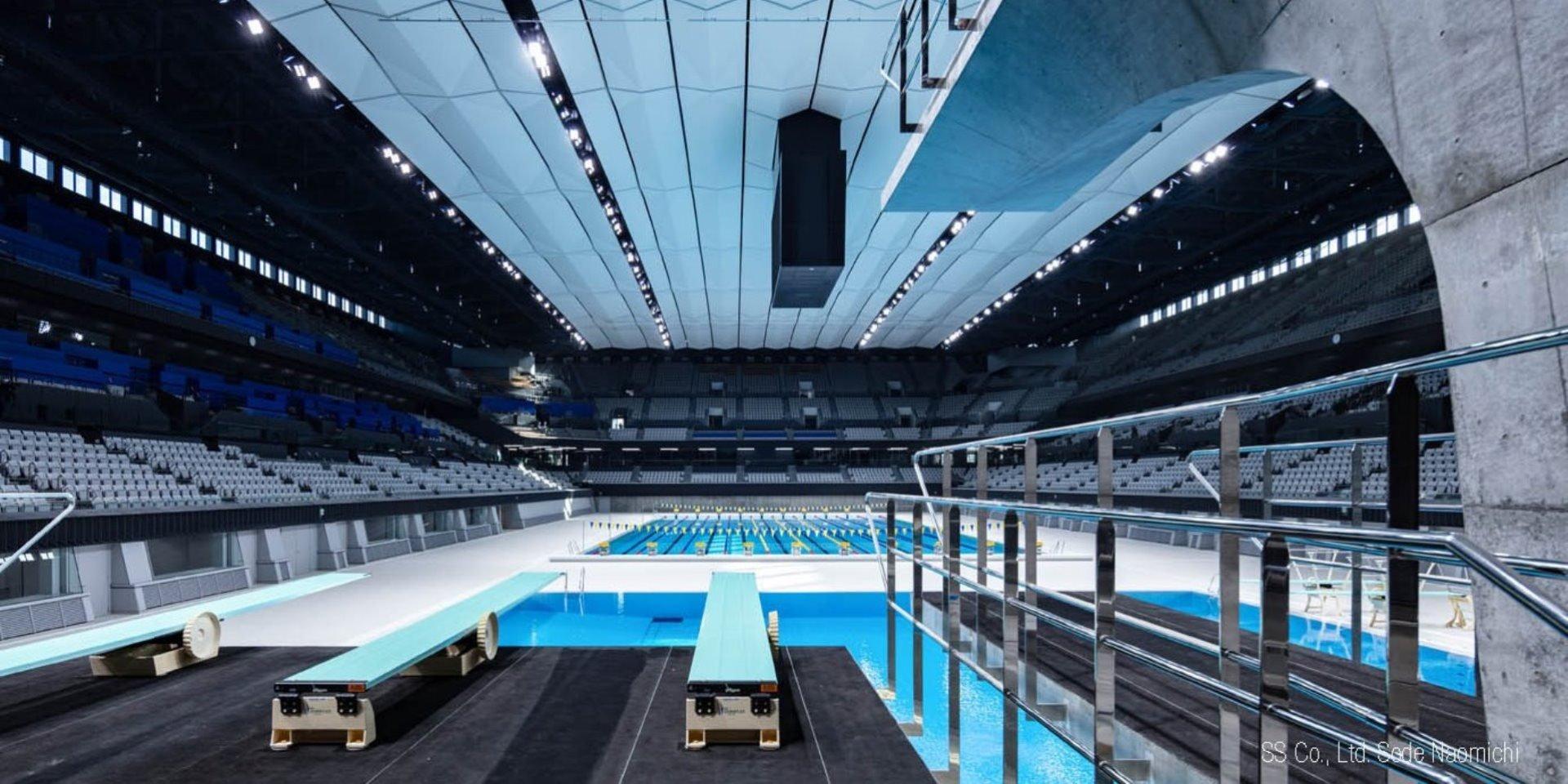 Tokyo Aquatics Centre Steuler Pool Linings