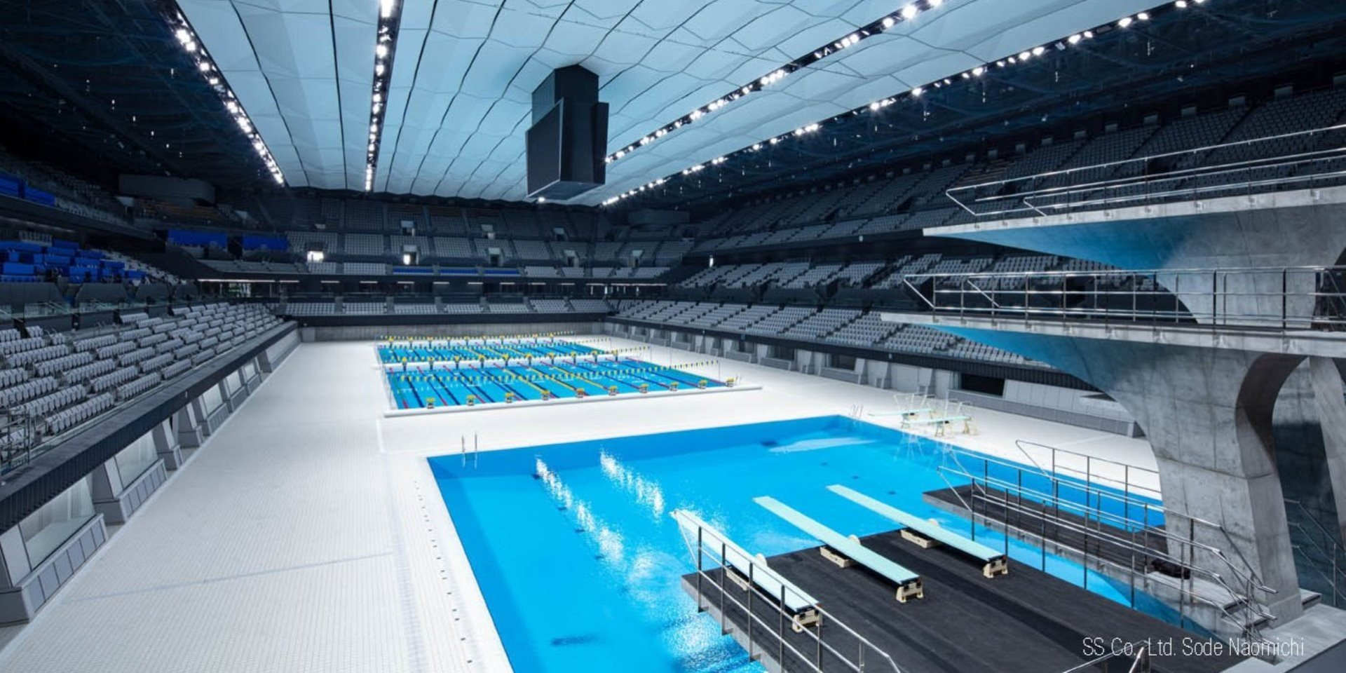 Olympic Swimming Hall Tokyo Steuler Pool