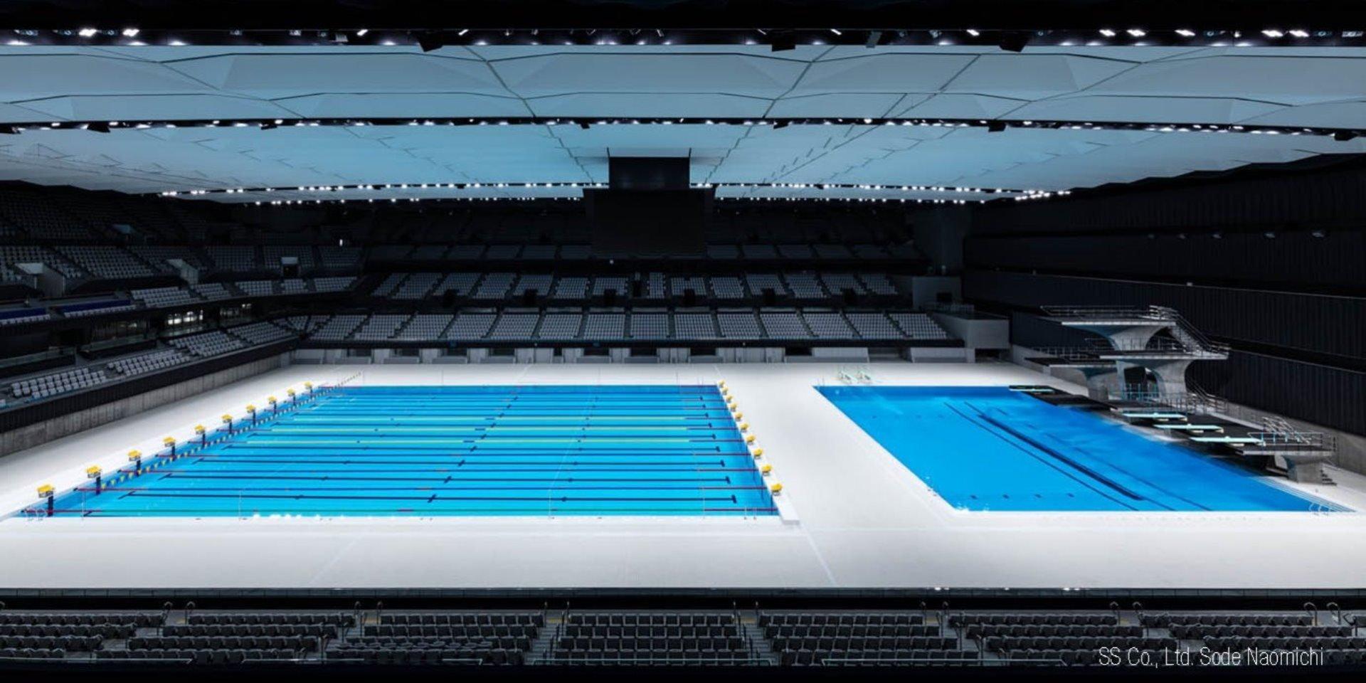 Olympic Aquatics Centre Steuler Schwimmbadbau