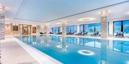 Schwimmbad Dolomitengolf Suites Lavant