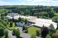 Luftbild des Standortes Steuler-WTI in Breitscheid im Jahr 2019