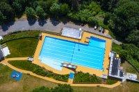 Panoramabad Engelskirchen Luftaufnahme | Steuler Pool Linings