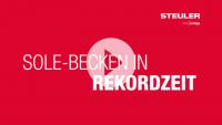 Zeitraffer Film Witten Solebecken Neubau BEKAPOOL