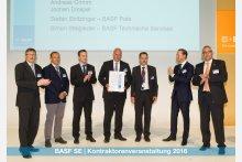 Verleihung BASF-Award 2016 an STEULER-KCH