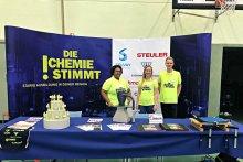 Messeteam der Steuler-Gruppe auf der Azubimesse der Karl-Fries-Realschule Plus in Bendorf