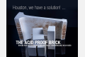Safe and fast delivery of acid-proof bricks, now on site in the USA.