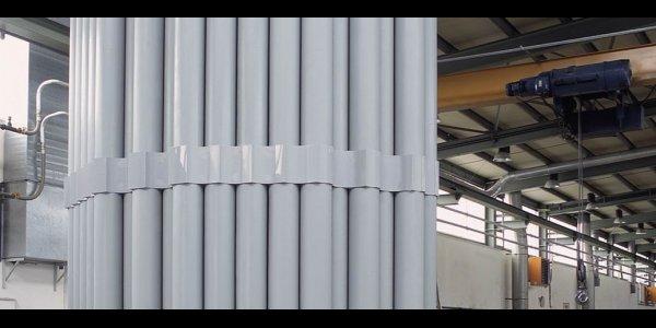 Chemische_Industrie Rohrbuendel Nasselektrofilter