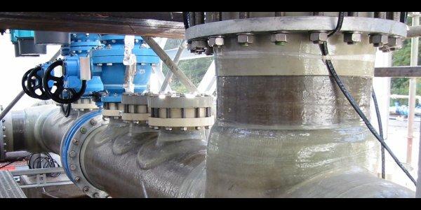 Nichteisenmetall Industrie Kunststoff Rohrleitungen
