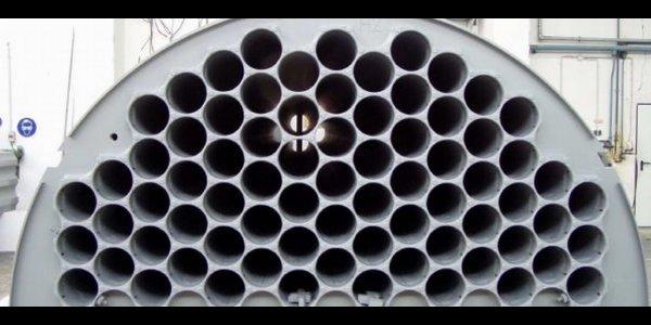 Papier Zellstoffindustrie Rohrbuendel Nasselektrofilter