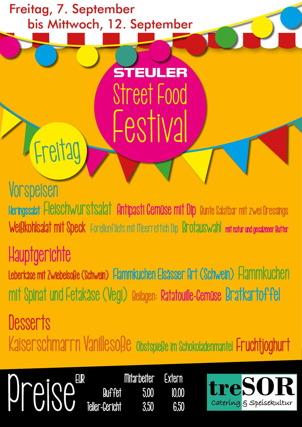 Steuler Street Food Festival 2018-Freitag