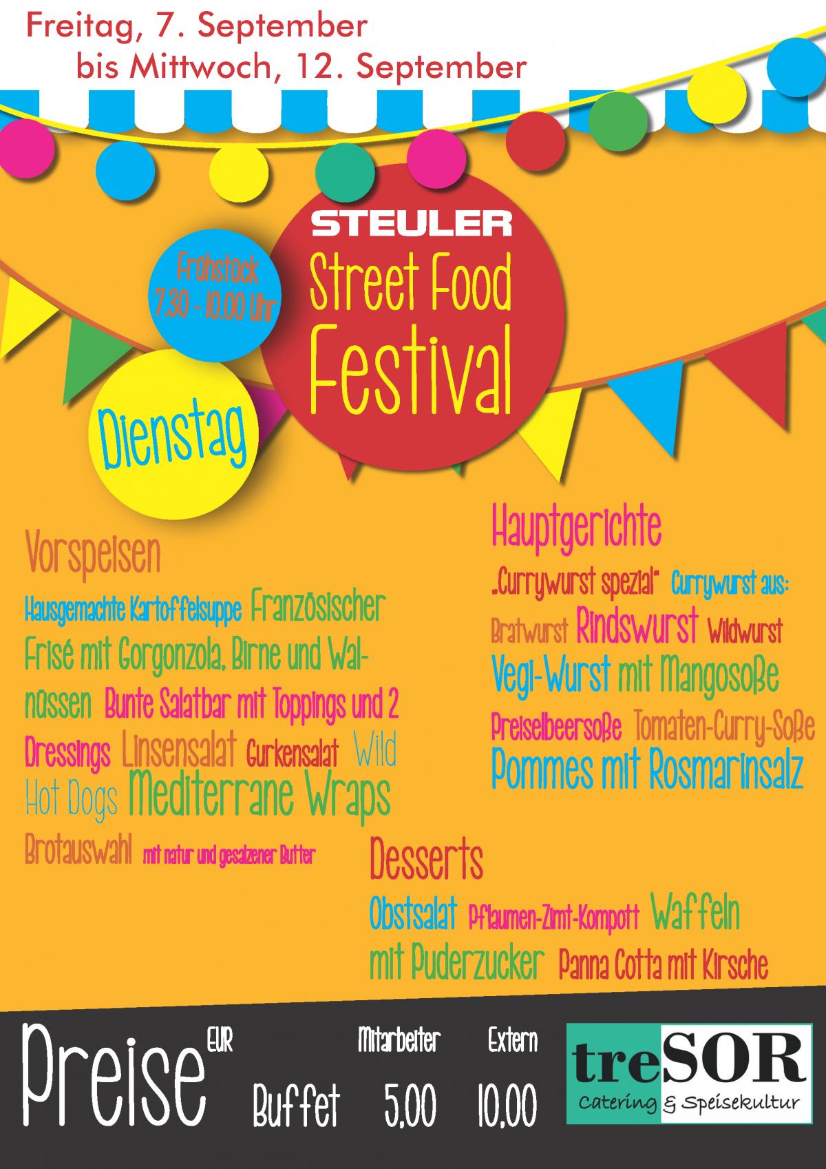 Steuler Street Food Festival 2018-Dienstag