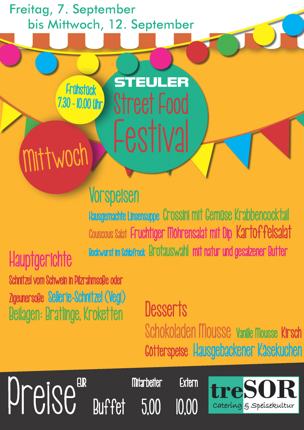 Steuler Street Food Festival 2018-Mittwoch
