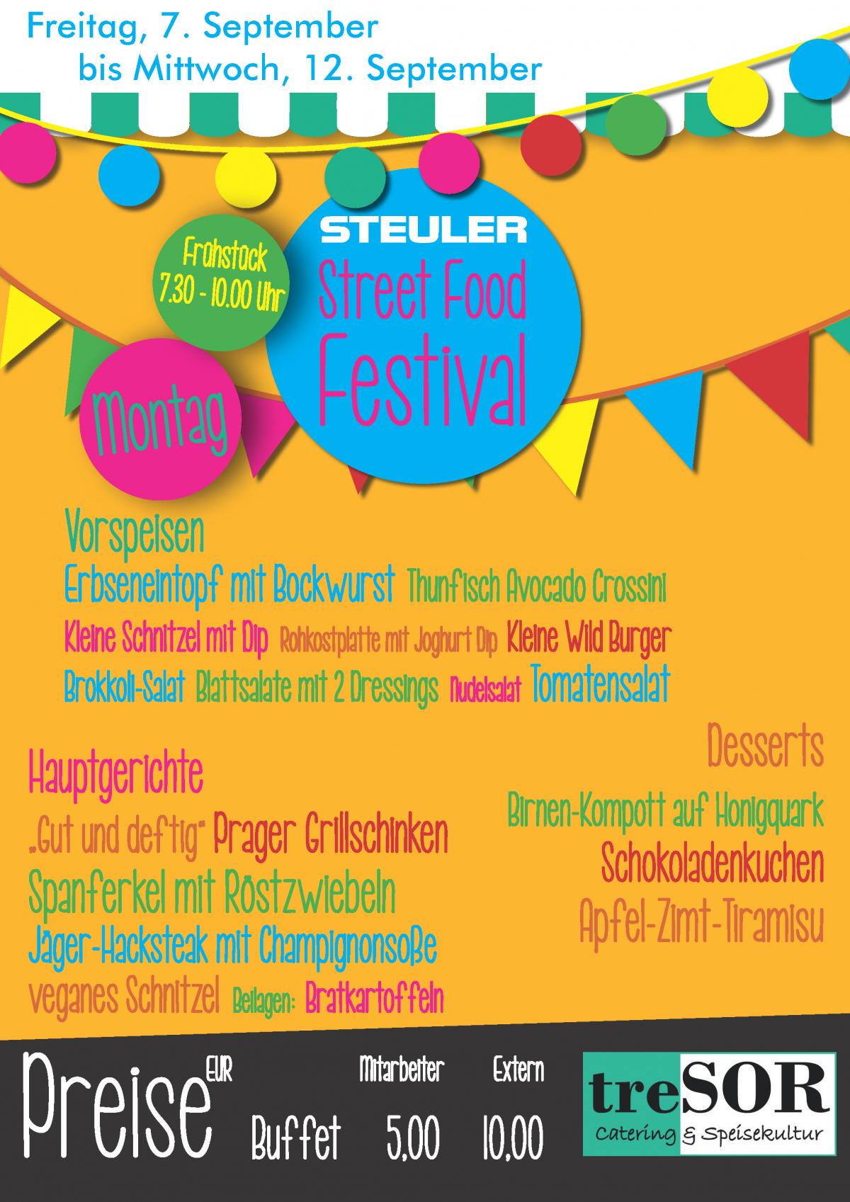 Steuler Street Food Festival 2018-Montag